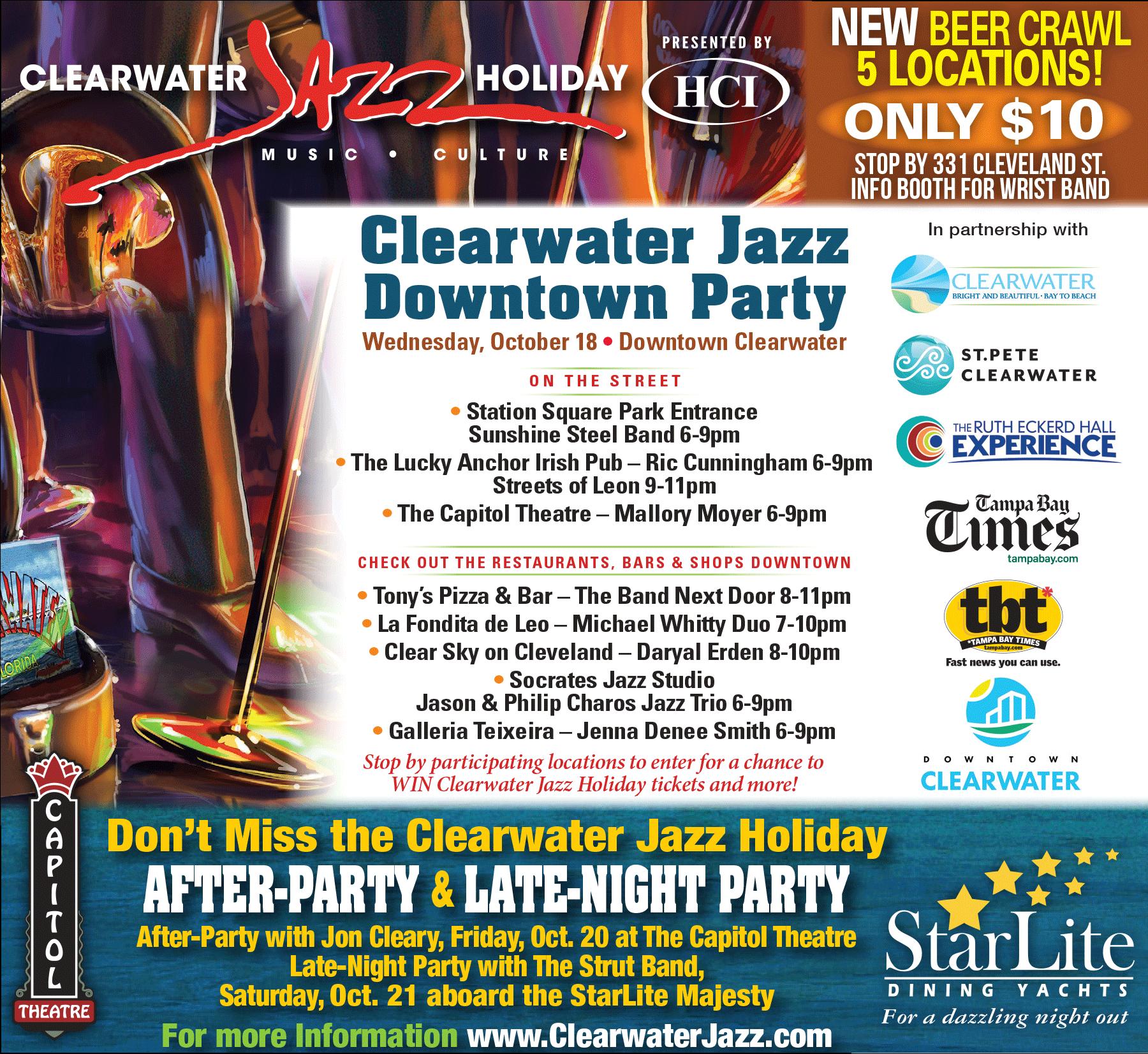 Clearwater Jazz Festival 2020.Clearwater Jazz Festival 2020 Festival 2020